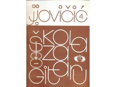 Literatura J. Jovičić - Škola za gitaru 4