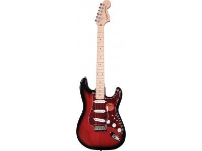 Squier By Fender Standard Stratocaster Maple Fretboard. Antique Burst