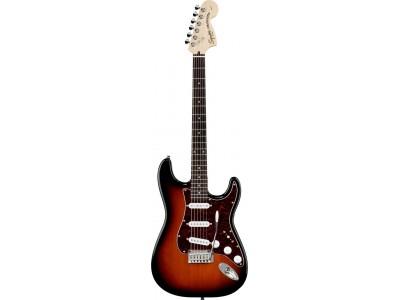 Squier By Fender Standard Stratocaster Rosewood Fretboard. Antique Burst