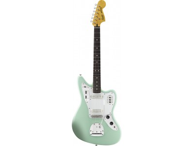 Squier By Fender Vintage Modified Jaguar. Rosewood Fingerboard. Surf Green