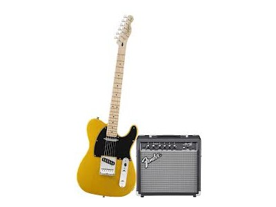 Squier By Fender Affinity Series Tele with Fender Frontman 15G Amp