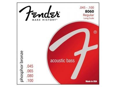 Fender PRIBOR 8060 PHOSPHOR BRONZE ACOUSTIC BASS STRINGS LS 8060 45 10