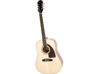 Epiphone AJ-220S Solid Top Acoustic Natural Nickel
