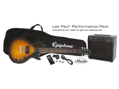Epiphone LES PAUL ELECTRIC GUITAR PERFORMANCE PACK VINTAGE SB *