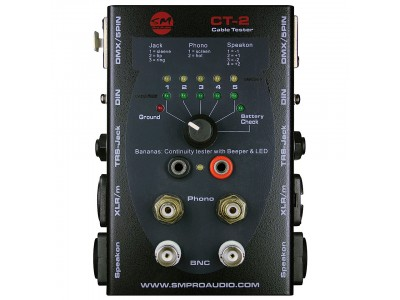 SM PRO Audio CT2 Cable Tester