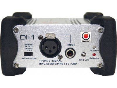 SM PRO Audio DI1 Direct Injection Box
