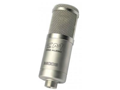 SM PRO Audio MC03 Studio Tube Microphone