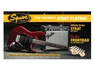 Squier By Fender Affinity Series Stratocaster HSS with Fender Frontman 15G Amp. Candy Apple Red