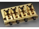 Schaller Bass Bridge 2000 4-string 3-dimensional Fixed Gold