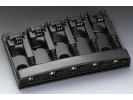 Schaller Bass Bridge 3D-5 3-dimensional Reels Black Chrome