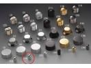 Schaller Speed Knobs Brass (34) Smooth Chrome