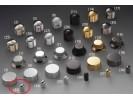 Schaller Speed Knobs Brass (33) Smooth Nickel