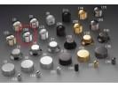 Schaller Speed Knobs Aluminium (26) Diamond-Knurled Chrome