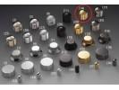 Schaller Speed Knobs Brass (14) Diamond-Knurled Gold