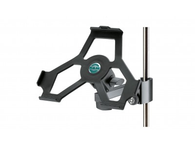 K&M Stands 19722 iPad holder black