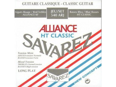 Savarez Strings For Classic Guitar Concert Alliance 540ARJ