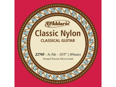 D'Addario J2705 Single String A (5th)