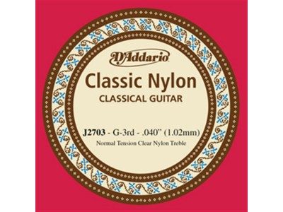 D'Addario J2703 Single String G (3rd)