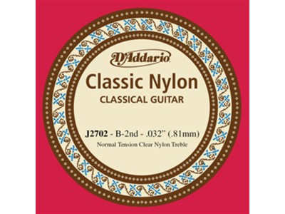 D'Addario J2702 Single String H (2nd)