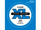 D'Addario XLB080 Single String