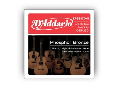 D'Addario EPBB170-5 Set