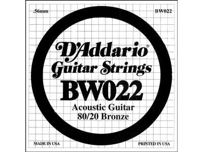 D'Addario BW022 Single String 022