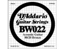 D'Addario BW022 Single String 022