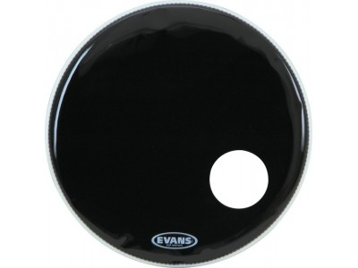 "Evans BD22RB 22"" EQ3 RES BLK"