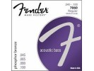 Fender PRIBOR Acoustic 7060 Bass Strings. Phosphor Bronze. 30