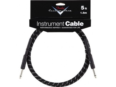 Fender PRIBOR Custom Shop Performance Series Cable. 5'. Black Tweed