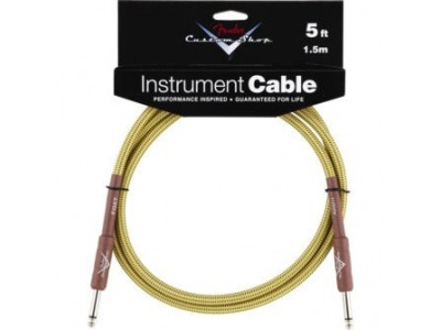 Fender PRIBOR Custom Shop Performance Series Cable. 5'. Tweed