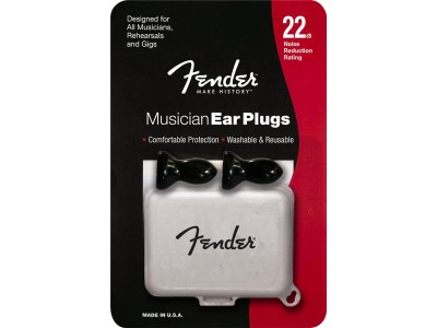 Fender PRIBOR Musician Series Black Ear Plugs
