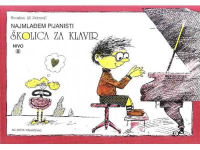 Literatura M. Lili Petrović - Školica za klavir - Nivo B