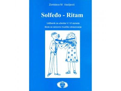Literatura Z. Vasiljević - Solfedjo-Ritam za 5. i 6.  razred