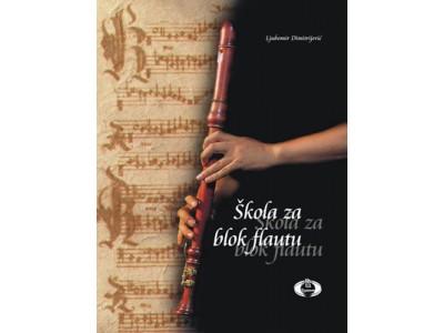 Literatura Lj. Dimitrijević - Škola za blok flautu
