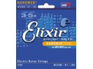Elixir Electric Guitar Strings with NANOWEB Coating (.011-.049) Medium