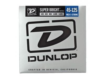 Jim Dunlop DBSBN45125 BASS-NKL SBMD-5/SET