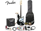Squier By Fender Affinity J Bass with Rumble 15 Amp. Black *