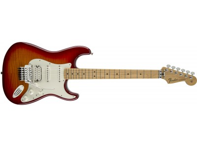 Fender Standard Strat Plus Top with Floyd Rose Tremolo, Maple Fingerboard, Aged Cherry Burst