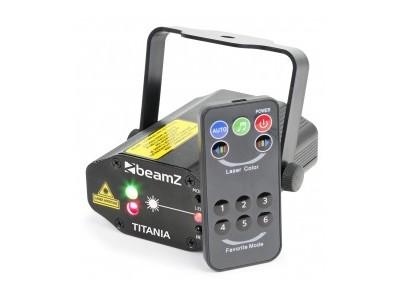 BeamZ Titania Double Laser RG Gobo IRC
