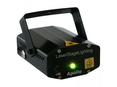 BeamZ Apollo Multipoint Laser Red Green