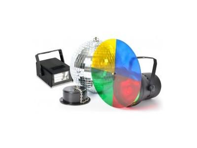 BeamZ Disco Set complete 20cm ball