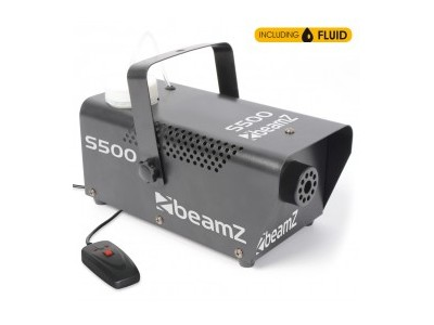 BeamZ S500 Smokemachine incl 250ml fluid