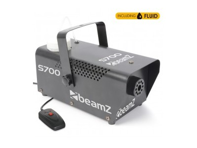 BeamZ S700 Smokemachine incl 500ml fluid