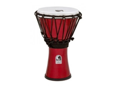 Toca Percussion TFCDJ-7MR Freestyle Colorsound 7-Inch Djembe