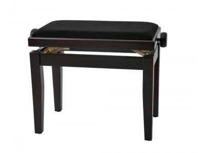 Gewa PIANO BENCH DARK ROSEWOOD MATTE COVER BLACK