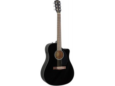 Fender CD 60 solid cutaway electric  black