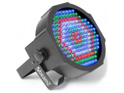 BeamZ LED FlatPAR-154 x10mm RGBW, IR, DMX