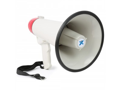 SkyTec MEG045 Megafon 40W USB/SD,rec., sirena, aux