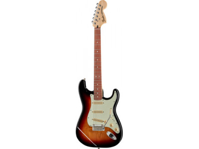 Fender DELUXE ROADHOUSE STRAT Pau Ferro 3 Tone Sunburst